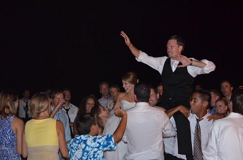 Brock & Katie in the air!
