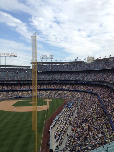another view of Dodger Stadium