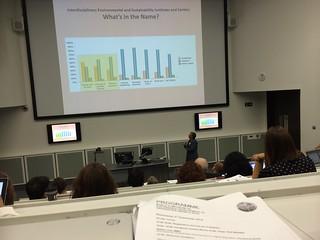Presentation on Interdisciplinary Centers