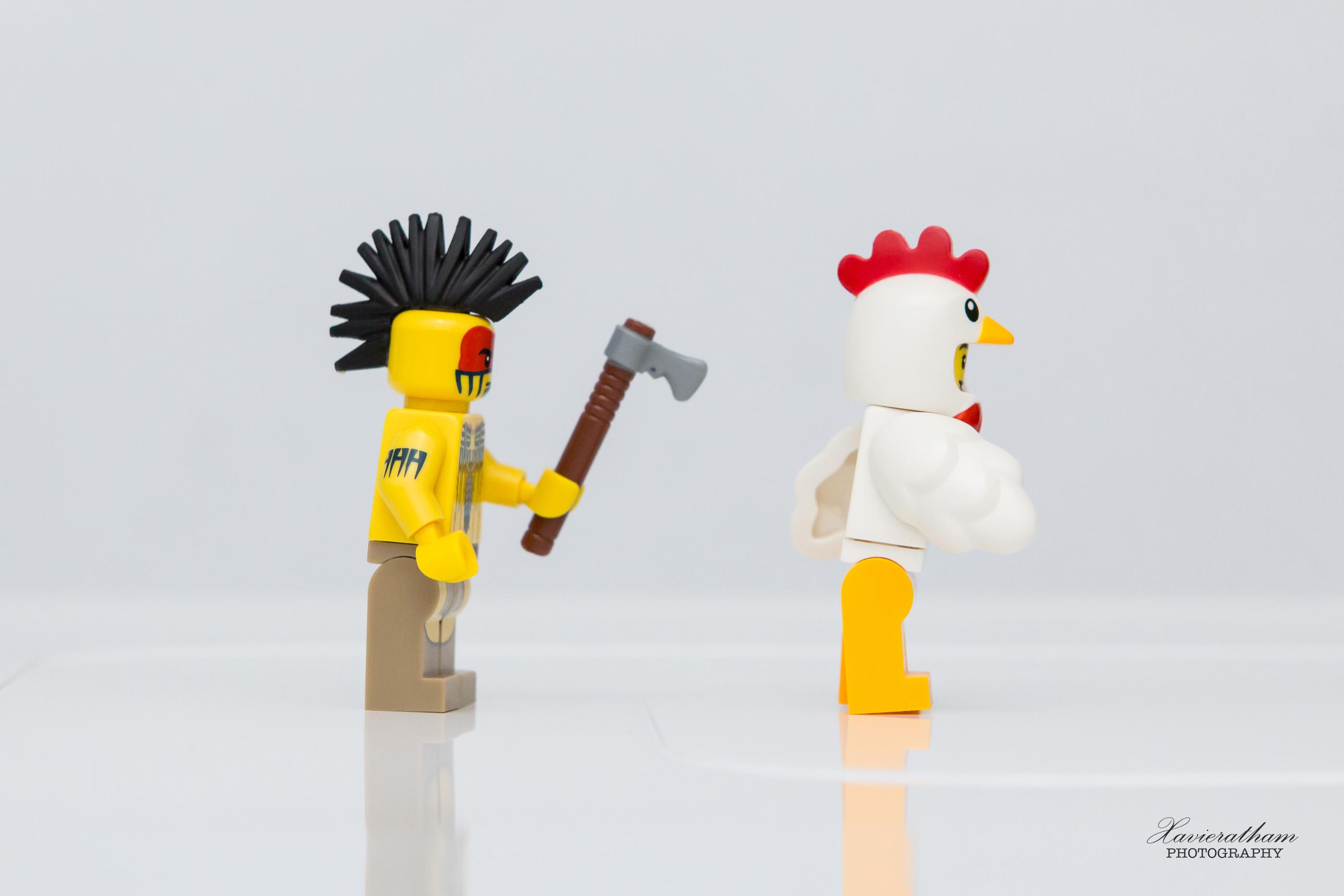 「創作之路」防人之心不可無,害人之心不可有的 LEGO 世界