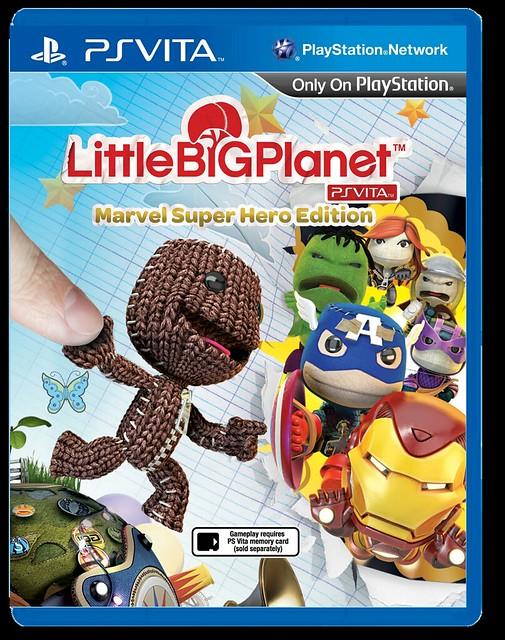 LittleBigPlanet PlayStation Vita Marvel Super Hero Edition