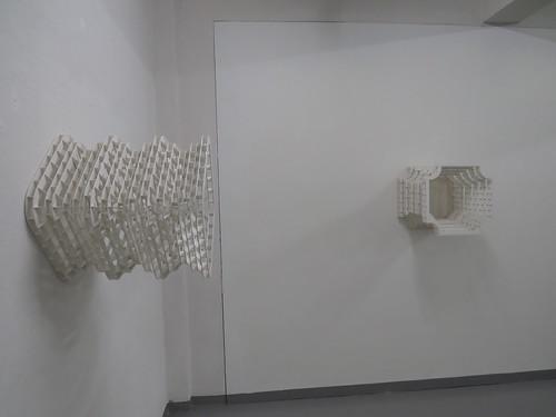Frank Åsnes: Abstrakt objekt 1 + 2