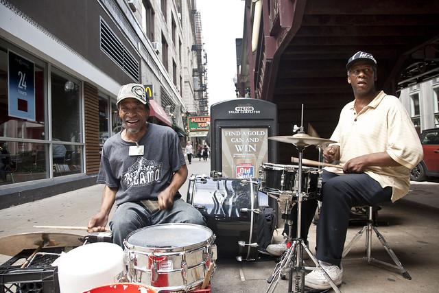 393/365 - Street Drummers