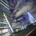 Leaning KPN Tower Rotterdam 2 Sat by Mabry Campbell