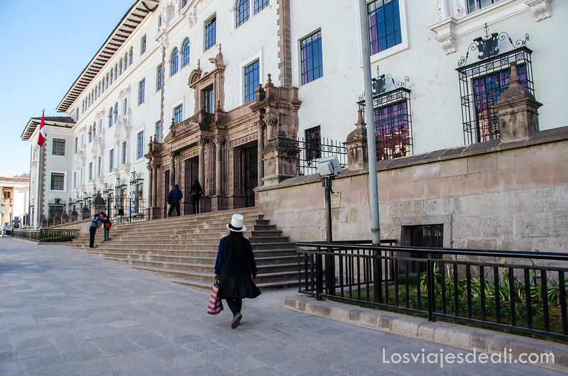 palacio de justicia de Cuzco