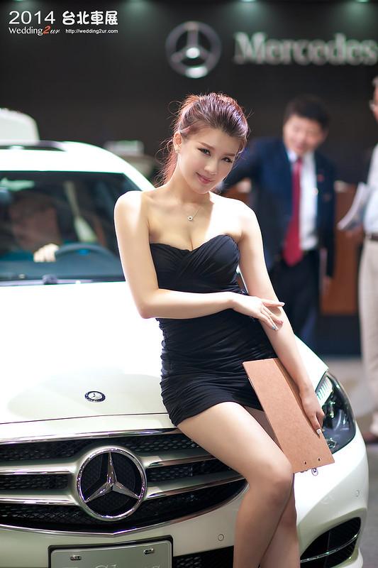 2014台北車展 show girl,47