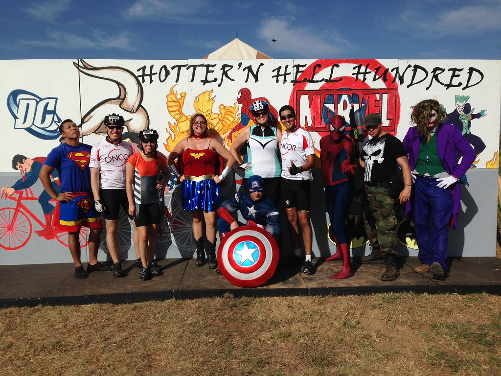 HotterNhell super heroes