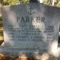 """Slip My Moorings And Sail Away,"" Green-Wood Cemetery"