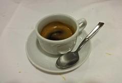 espresso at Trattoria Rivetta