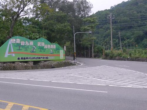 臺東往關山武陵綠色隧道