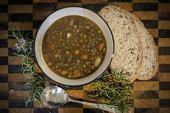Much needed lentil stew