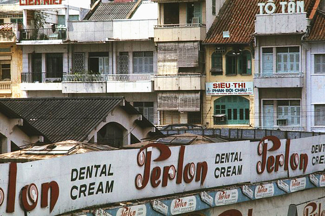 SAIGON 1969-70 by Michael G. Anderson. City view
