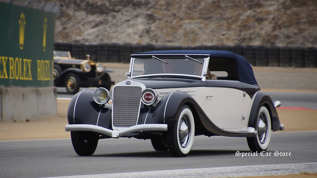 Delage at Pebble Beach Tour d'Elegance 2014