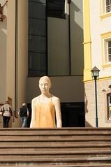 In piazza a Ortisei c'è...