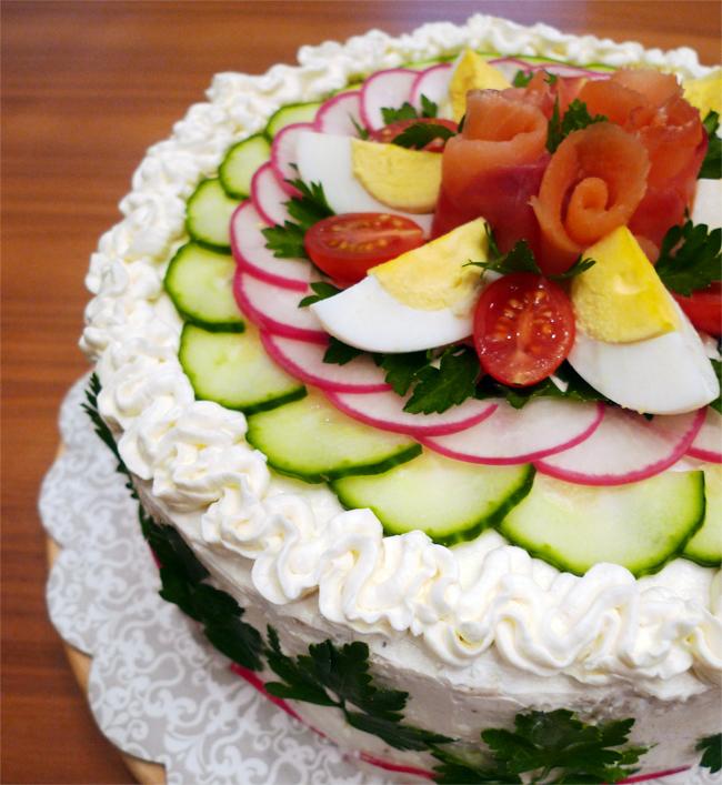 Smörgåstårta: Sandwich Cake