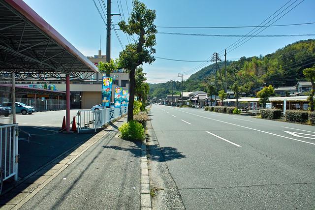 倉敷国際トライアスロンバイクスタート地点