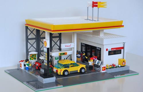 Lego Gas Stations Flickr Photo Sharing