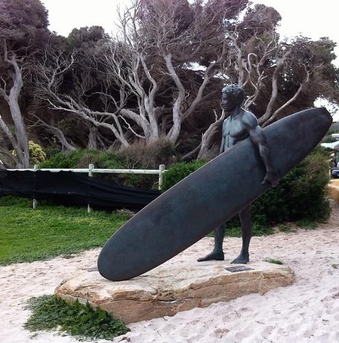 Surfer Statue, Yallingup