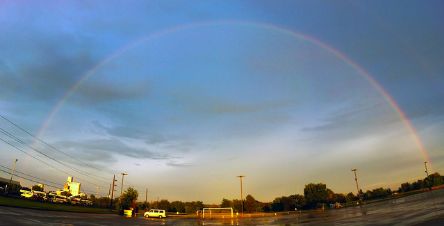 Full Arc Rainbow (Day Two) Katy Texas