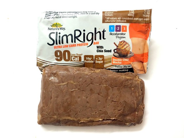 Nature's Way SlimRight Double Choc Mocha Protein Bar