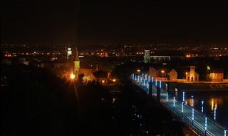 Kaunas at night