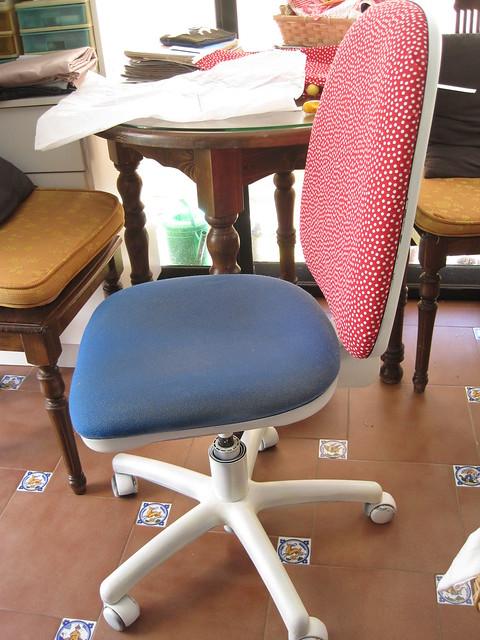 silla en proceso