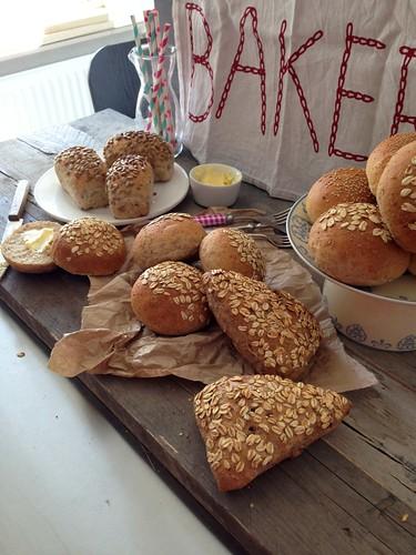 Foto's maken voor boek Brood uit eigen oven