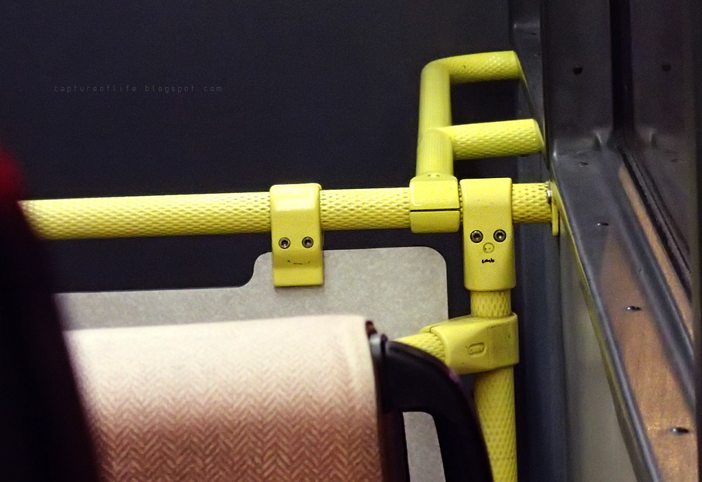 faces on bus