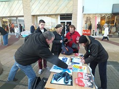 Yes stall in Easterhouse, 2014