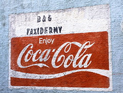 Coca-Cola Mural - Moscow, TN
