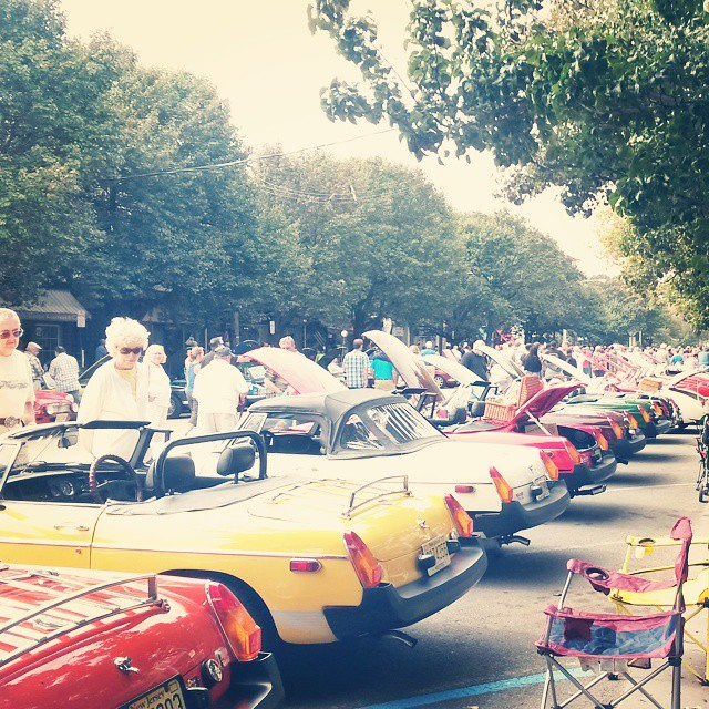 Ocean Grove European car show. #latergram #EuropeanCars