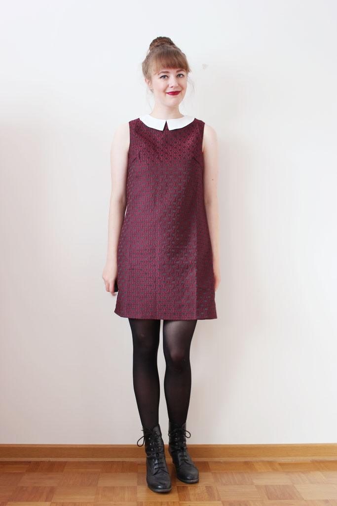 Dress with peter pan collar - peter pan collar - Kleid mit Bubikragen
