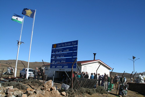 Sani Pass Border Post, Lesotho side