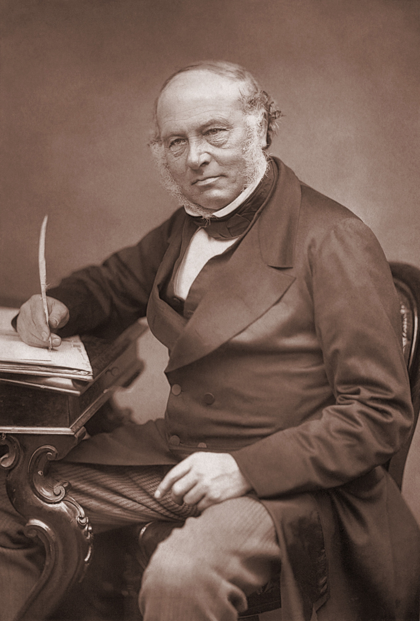 Rowland Hill photo, 1879