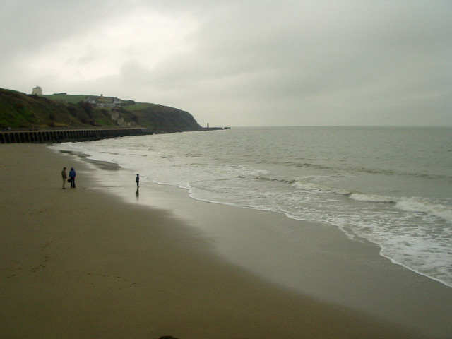 The beach at Folkestone