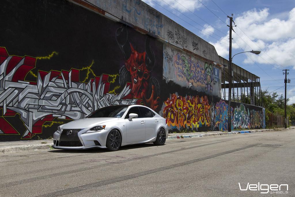 Lexus Is250 F Sport Velgen Wheels 19x9 19x105 Lexus Is2 Flickr