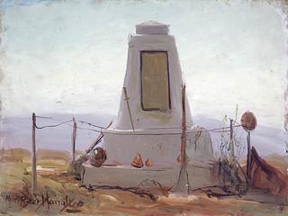 Canadian Monument, Passchendaele Ridge / Monument canadien, crête de Passchendaele