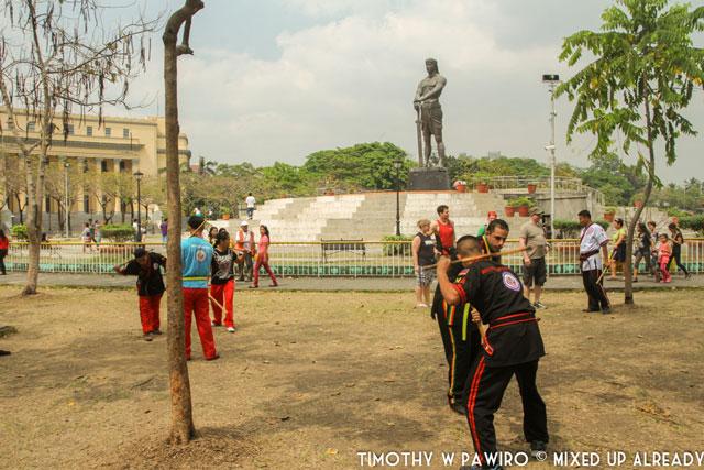 Asia - Philippines - Manila - Rizal Park - Lapu Lapu Monument