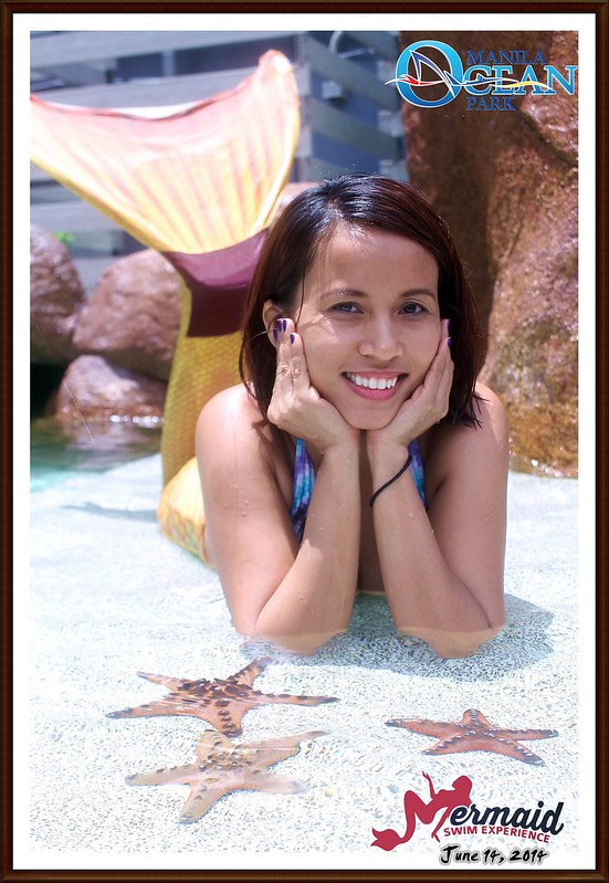 Mermaid for a Day at Manila Ocean Park
