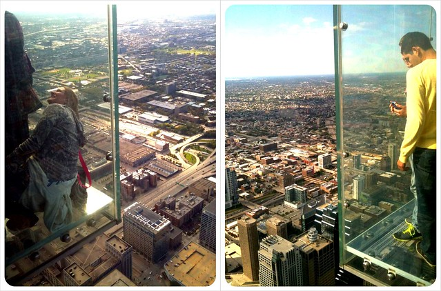Willis Tower Chicago Glass Bottom