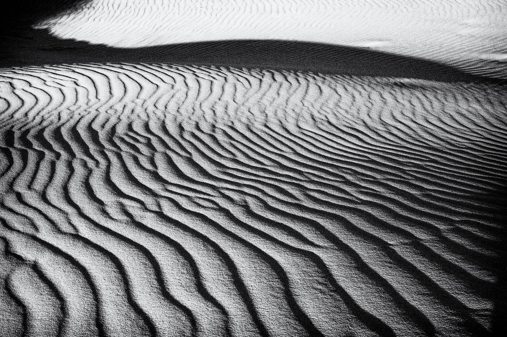 Waves in sand