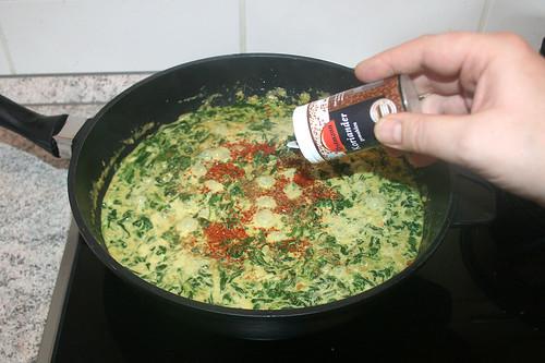 39 - Mit Gewürzen abschmecken / Taste with seasonings