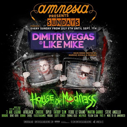 Ibiza - Dimitri Vegas & Like Mike will host their
