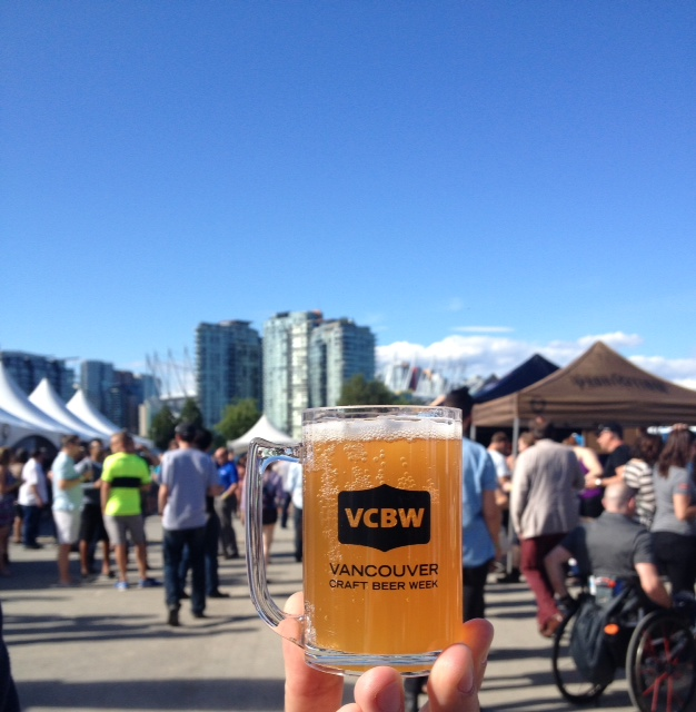 Craft beer, city views, good times! @vcbw