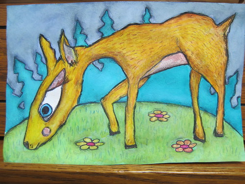 Finished - Cheerful Deer