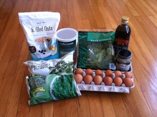 Ax Salad ingredients