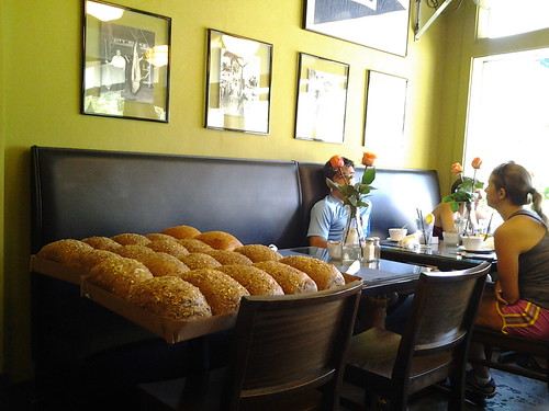 fresh bread; O-B House Fort Lauderdale
