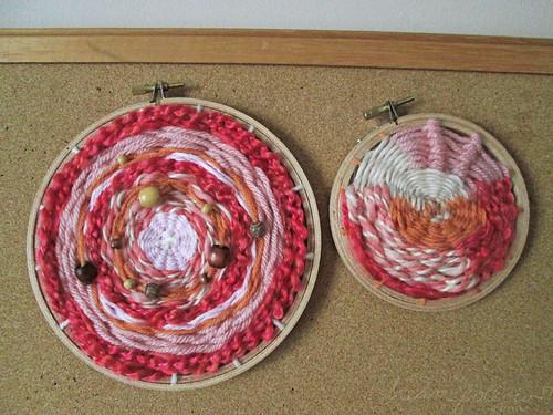 impromptu weavings
