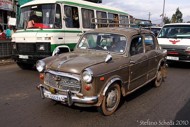 FIAT 1100 - Addis Ababa, Ethiopia
