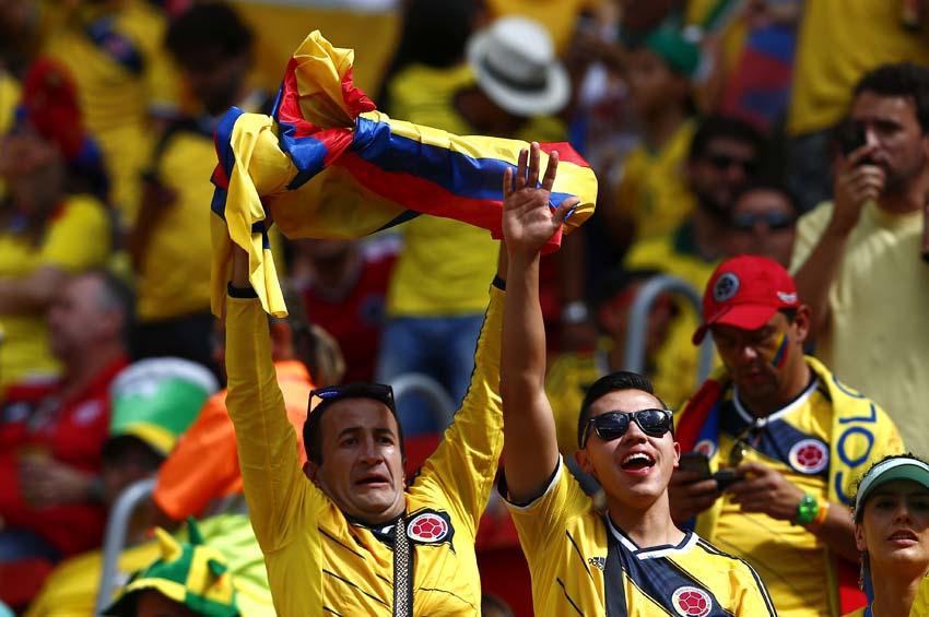 (7)BRASIL-BRASILIA-MUNDIAL 2014-COLOMBIA VS COTE D IVOIRE